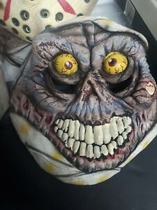 Vintage Scary Mummy Rubber Latex Halloween Face Mask Disguise