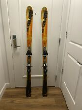 Salomon Spaceframe Scream Pilot Hot 10P 165cm Skis with Salomon S912 Bindings
