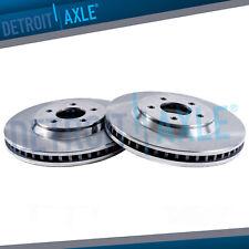 2X Front Brake Discs Rotors and 4X Ceramic Pads For Pontiac Torrent 2007-2009