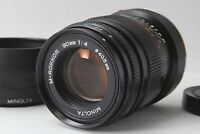 Excellent+++++ MINOLTA M-ROKKOR 90mm f4 Telephoto Lens Leica M CLE CL from Japan