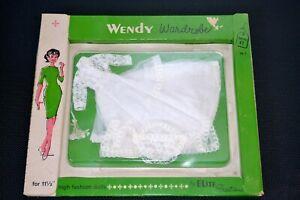 1960's NRFB Vintage Barbie CLONE WENDY ELITE CREATIONS UNEEDA BRIDAL WEDDING