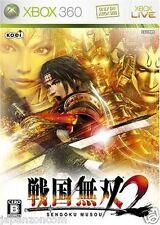Used Xbox 360 Sengoku Musou 2 MICROSOFT JAPAN JP JAPANESE JAPONAIS IMPORT