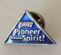 2007 Pioneer Spirit Small Pin Badge Vintage Original (N5)
