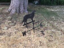 Sheet metal Border Collie Weathervane
