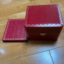 Cartier Watch Empty Box Men's with certificate