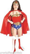 WONDER WOMAN Child Costume M Medium 8-10 Superhero Wonderwoman Justice League DC