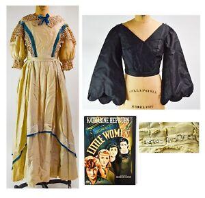 2 Costumes 1933 Little Women Screen Worn Gown - NO RESERVE - DK88.1