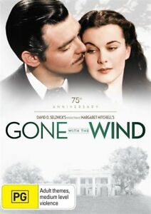 Gone With The Wind DVD - SAME / NEXT DAY POSTAGE from SYDNEY