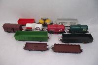 JOUEF Lot 12 wagons marchandises, citerne NETTOYEUR SNCF train ESSO BP biere