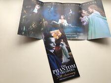 2 x flyer / handbill Phantom of the Opera. 30th Anniversary