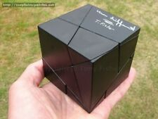 Golden Cube (with gold stickers), Double signed puzzle by Tony Fisher & Meffert)
