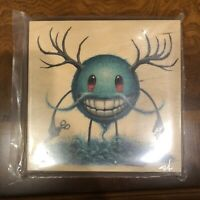 Jeff Soto Seeker Friends #16 The Soto Fish Print On Wood Signed Numbered Art