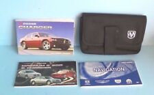 07 2007 Dodge Charger owners manual with Navigation