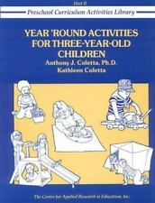 Year-Round Activities for Three-Year-Old Children (Preschool-ExLibrary