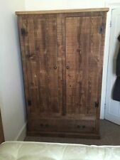 Handmade Rustic Wardrobes with Drawers