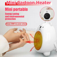 Mini Electric  Portable Desktop Home Office Winter Warmer Fan Air