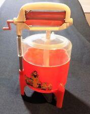 Vintage Snow White Disney Toy Wind-Up Washing Machine 1950's