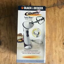 New BLACK & DECKER GIZMO Twist 2 in 1 Cordless Mixer Model GM100       PP54