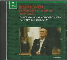 BEETHOVEN CD - Symphony No.6 Pastoral with Evgeny Mravinsky - LIKE NEW