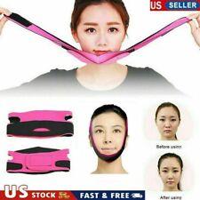 Facial Thin Face Slimming Bandage Belt Shape  V Lift Double Reduce Chin Massager
