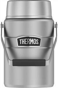 Thermos Stainless King 47 Ounce Vacuum Insulated Food Jar with 2 Inserts