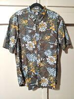 NWT Reyn Spooner Vintage Hawaiian Tailored Fit Floral Aloha Shirt Size XXL 2XL