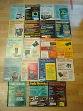 Lot of 19 Vintage 1970's Popular Electronics Magazines