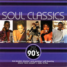 VARIOUS ARTISTS - SOUL CLASSICS: BEST OF THE 90'S NEW CD