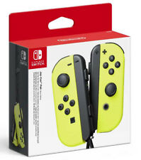Nintendo Switch Set 2 Joycon Giallo Neon 216700