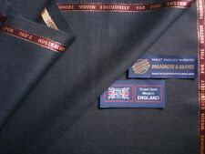 97% SUPER 150's WOOL & 3% CASHMERE SUITING FABRIC – MADE IN ENGLAND – 3.4 m.