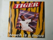 Tiger-Touch Is A Move Vinyl LP 1990 REGGAE DANCEHALL