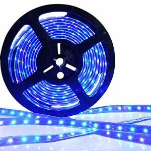 24v 5M BLUE LED 3528 SMD STRIP BRIGHT LIGHT MARKER SCANIA ACTROS ATEGO MAN VOLVO