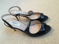 L.K. Bennett 100% Leather Peep Toe Heels for Women