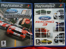 Ps2 Ford Street Racing Y Ford Racing 3 región 2 PAL 5017783022018 5017783016413
