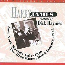 Harry James: NY World's Fair 1940 & Hotel Lincoln 1941 NEW CD Dick Haymes