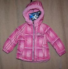 NWT Toddler Girls ZeroXposur Snow Ski Jacket 12m Reversible PINK New $55
