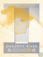 Okkervil River 2008 Gig Poster : Powerhouse Factories