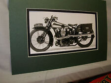 1926 Brough Superior SS100 British  Motorcycle Exhibit from Automotive Museum