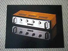Audio Research Ec-5 crossover processor brochure