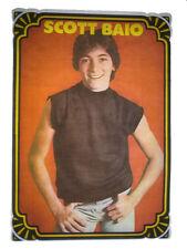 VINTAGE 70's SCOTT BAIO IRON ON T-SHIRT TRANSFER