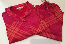 Victorias Secret Satin Pajama Set Pajamas XS Extra Small
