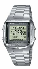 Casio Collection Herren-Armbanduhr Digital Quarz Edelstahl Silber DB-360N-1AEF