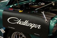 Dodge Black Challenger car mechanics fender cover paint protector vintage style