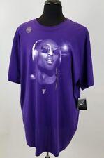 Mens Kobe  Bryant Lover Dri Fit Purple Super High Quality Tee Shirt Size is 3XL