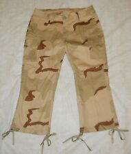 "STRETCH CAPRIS ""TRI-DESERT CAMO"" LADIES 5/6 ""ULTRA FORCE"" SUPER CUTE!  NWOT'S!"