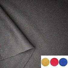 Black Jersey Pineapple Racing Seats Cover Car Seat Fabric Interior Cloth 1M×1.6M