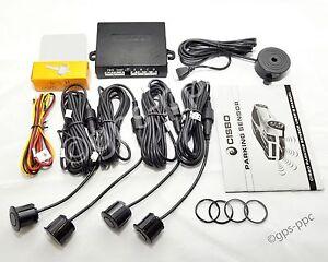 CISBO Car Rear Reverse Parking Sensors Audible Buzzer Canbus Kit Various Colours