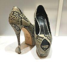 100% authentic Giuseppe Zanotti platform python heels, size 35