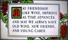 FRIENDSHIP (SAYING) ~ NEW Counted Cross Stitch KIT #ML37