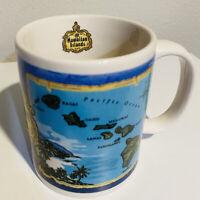 Hawaiian Islands Blue Island Coffee Mug